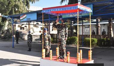 FC and HOM Lt Gen Ishwar Hamal visits INDCON
