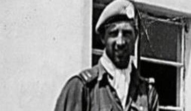 Capt Noel Carey as a Platoon Commander during the battle of Jadotville