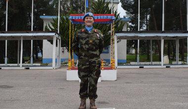 UNDOF's Deputy Force Commander Brigadier General Maureen O Brien