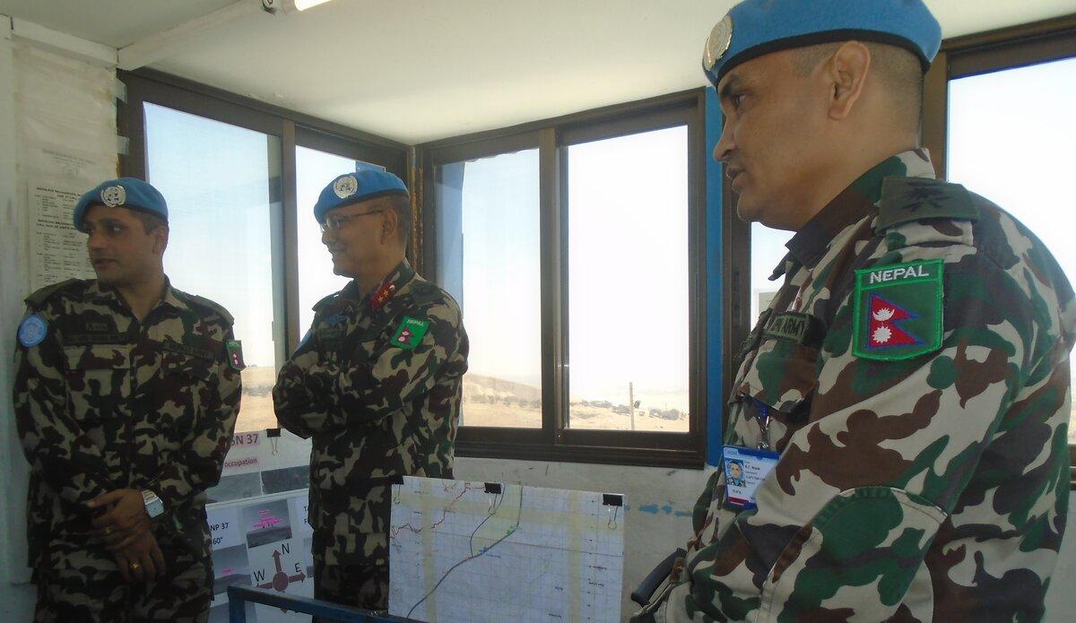 On Ground Briefing at UNP 37.