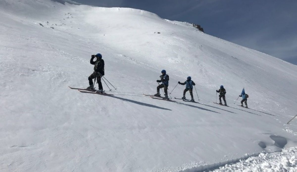 Conducting Ski-Patrol Training in the AOR of NEPCON (SECTOR NORTH)