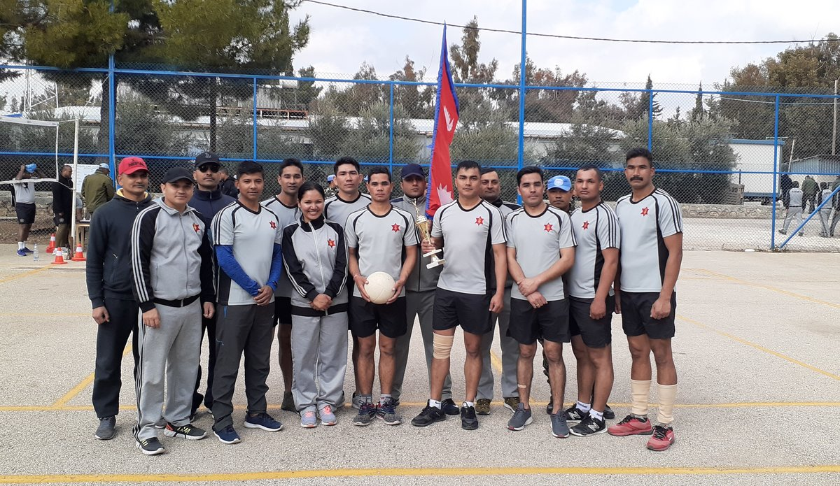 Congratulations to the Winning Team, Nepalese Mechanized Company