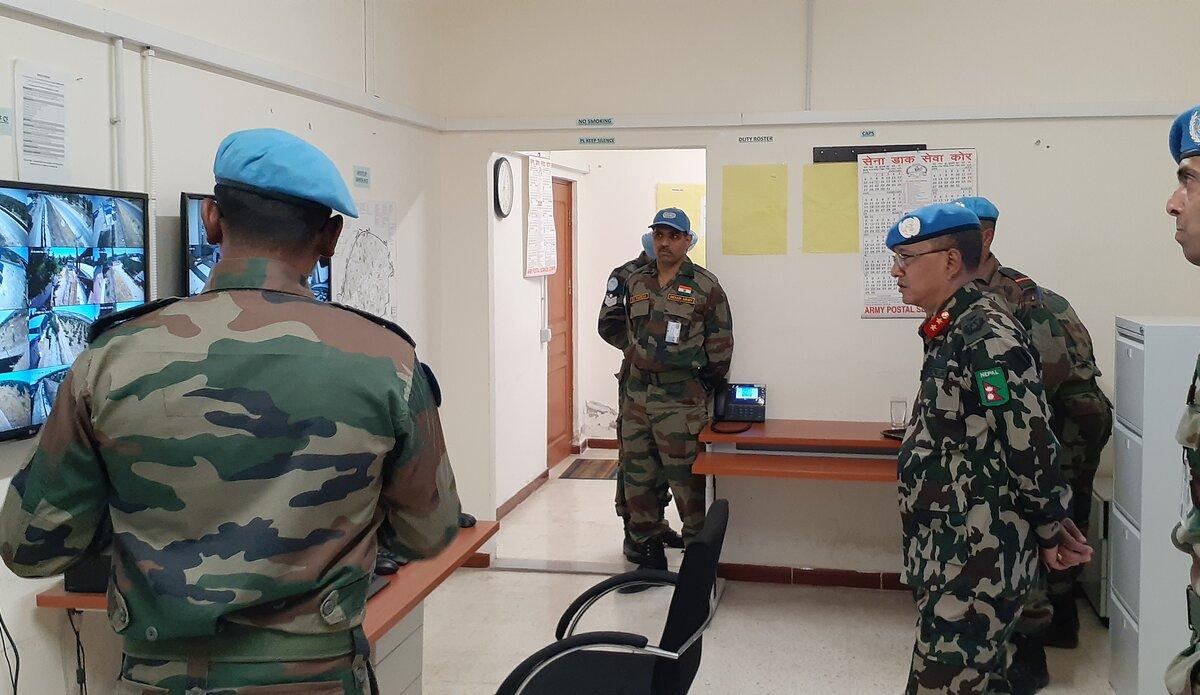 HoM/FC visited IINDCON security Platoon.