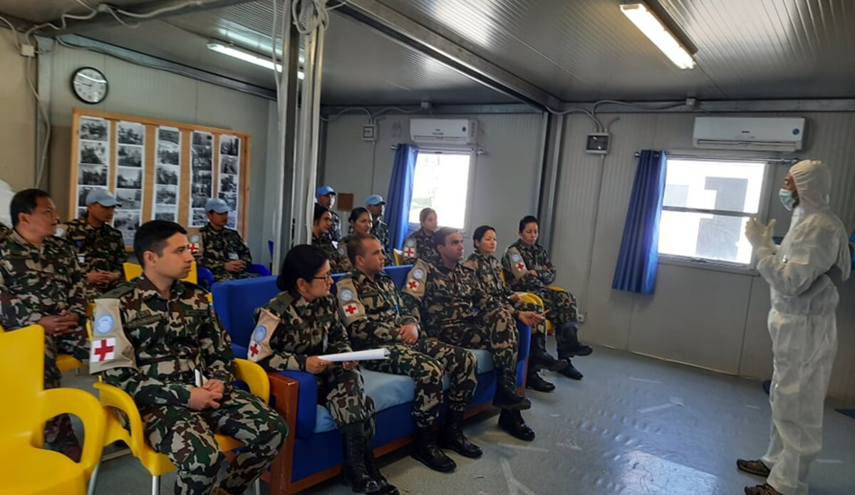 Training on COVID-19 : Donning