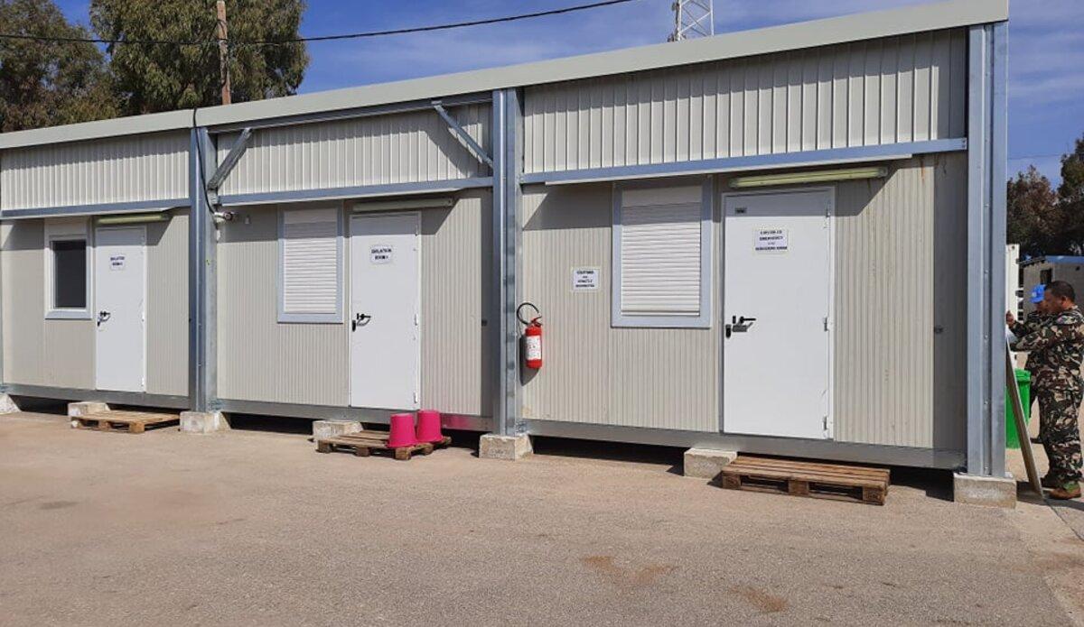 Isolation Building in Level One Plus Hospital, UNDOF