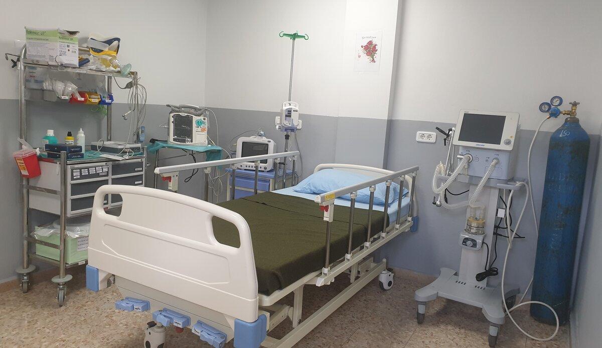 Upgradation of ICU in Level One Plus Hospital, UNDOF