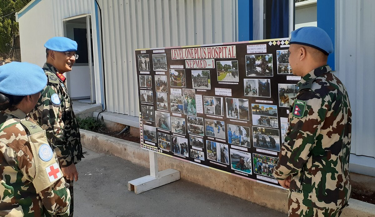 A pictorial representaion of the year's work to HoM/FC by Lt. Col. Dr. Narayan Thapa