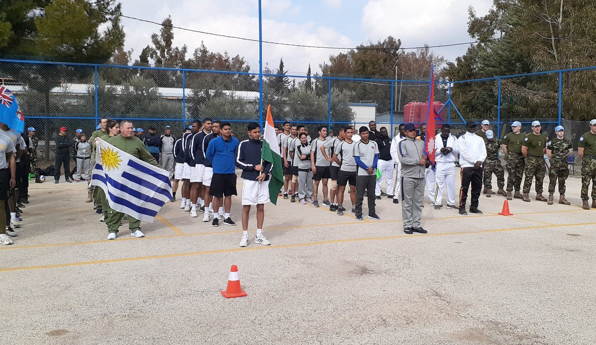 All participating teams assembled for Prize Distribution
