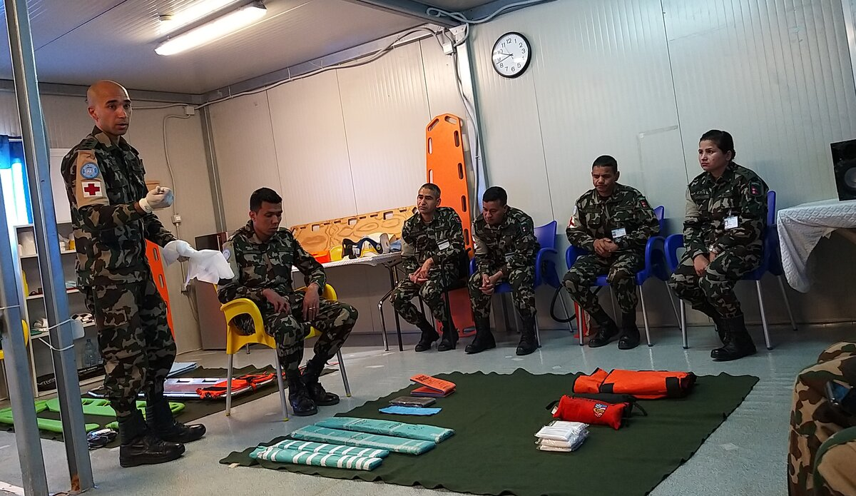 Advanced Combat Life Support : Limb Immobilization by Capt. Dr. Ayush Rayamajhi (First Aid Training)