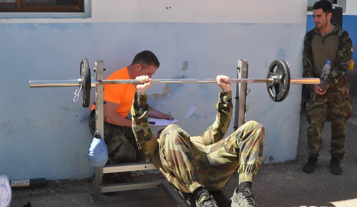The 40kg bench press challenge