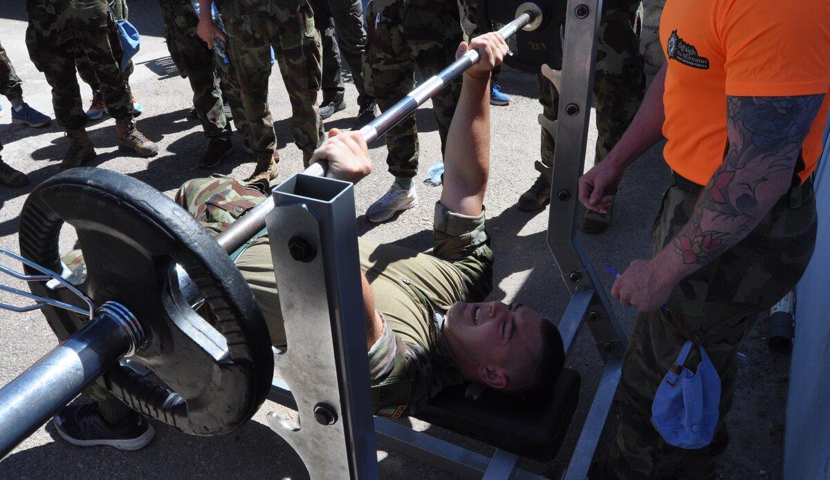 The 40 kg Bench Press challenge