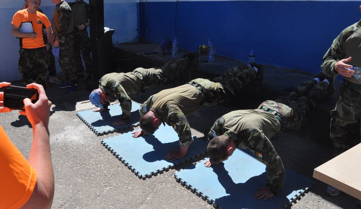 The Press Up challenge
