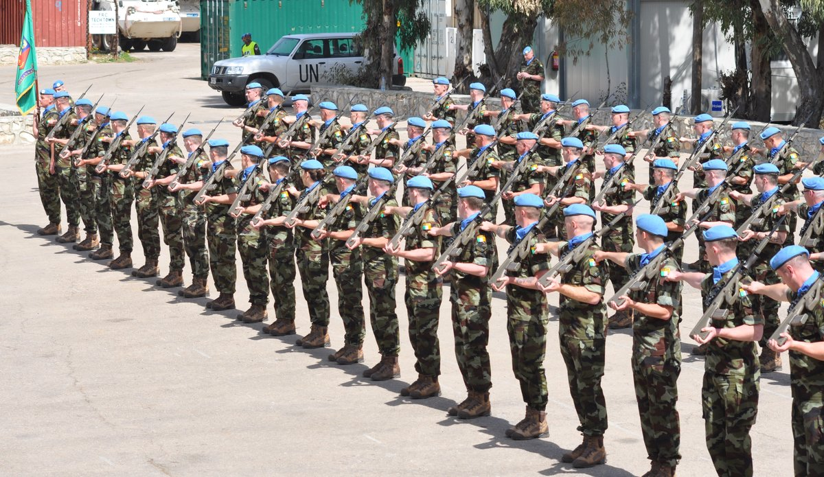 Troops of FRC 60 Inf Gp are dressed of on parade.