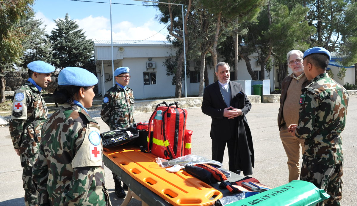 Role 1 + Ne Con gives a demonstration of its capabilities during Diplomats Day 2020