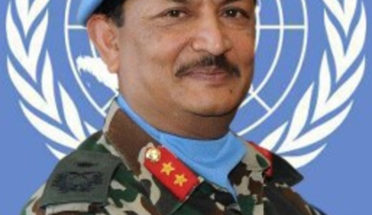 Major General Shivaram Karil Head of Mission and Force Commander of UNDOF