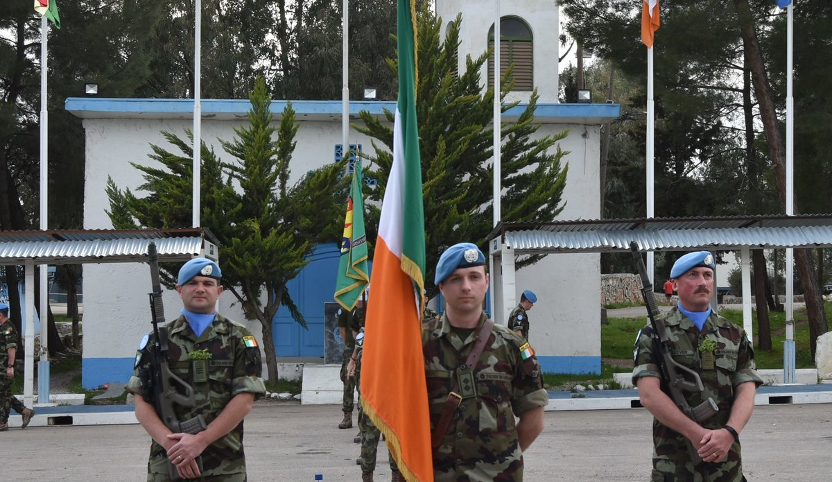 60 Inf Gp FRC Flag Party