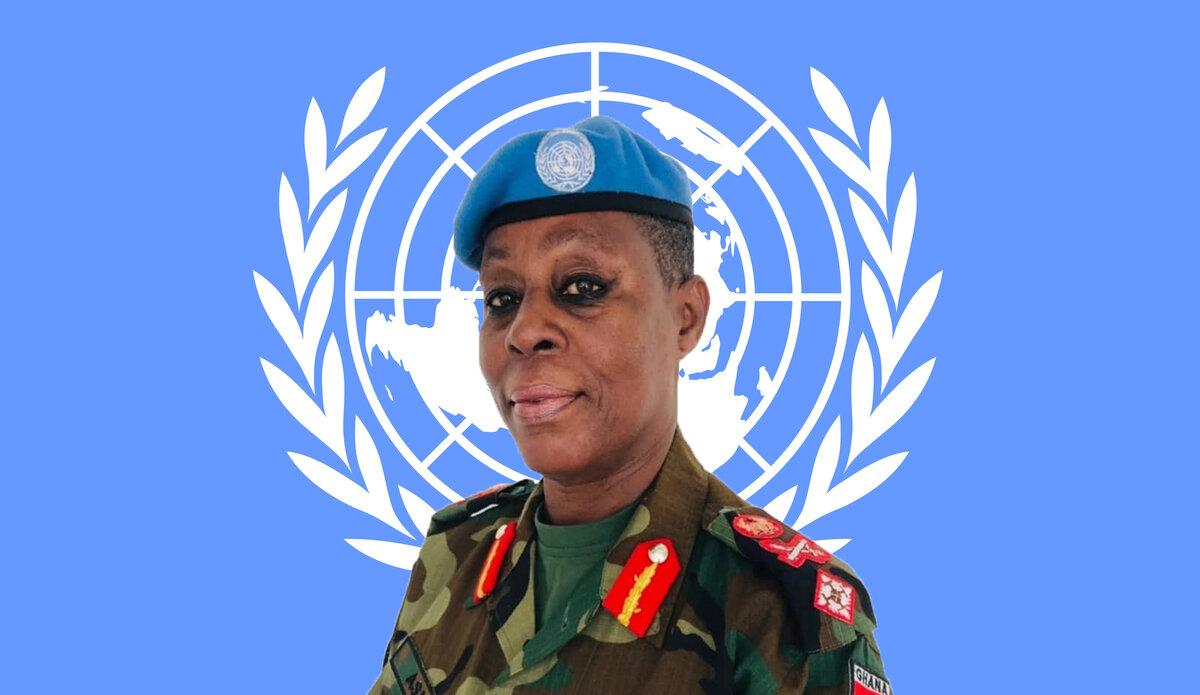 Deputy Force Commander Brigadier General Anita Asmah