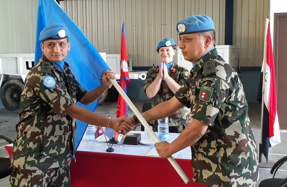Lt Col Bijay Officially Hands Over Command to Lt Col Amar