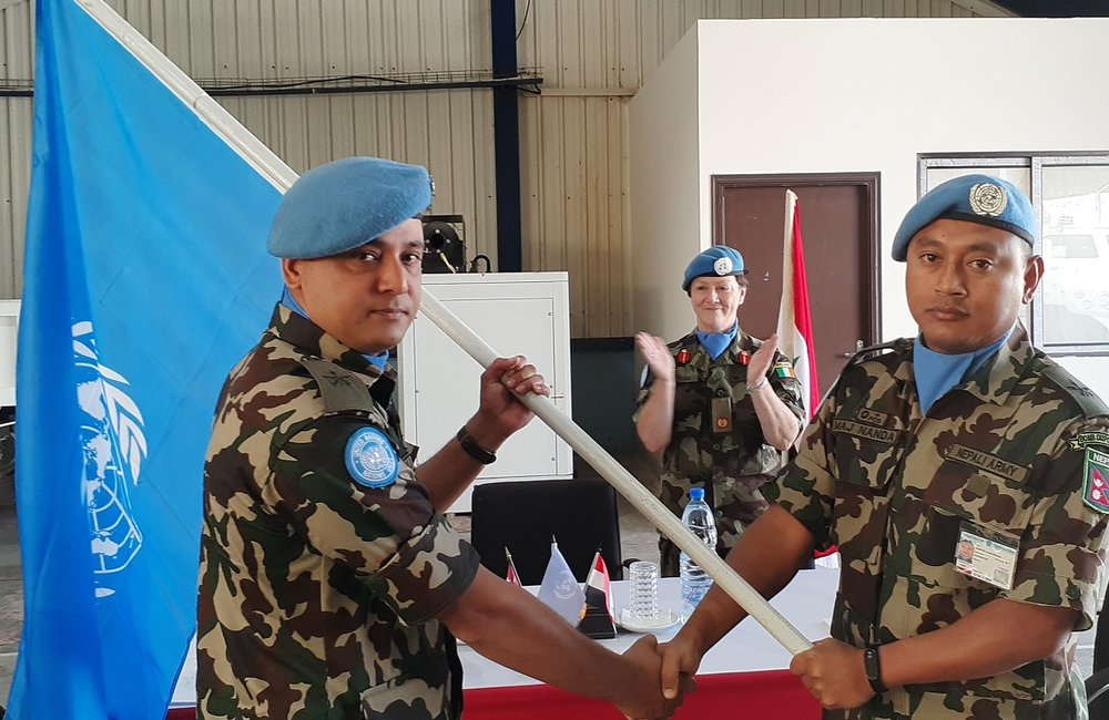 NEPENG Coy Commanders Officially Handover