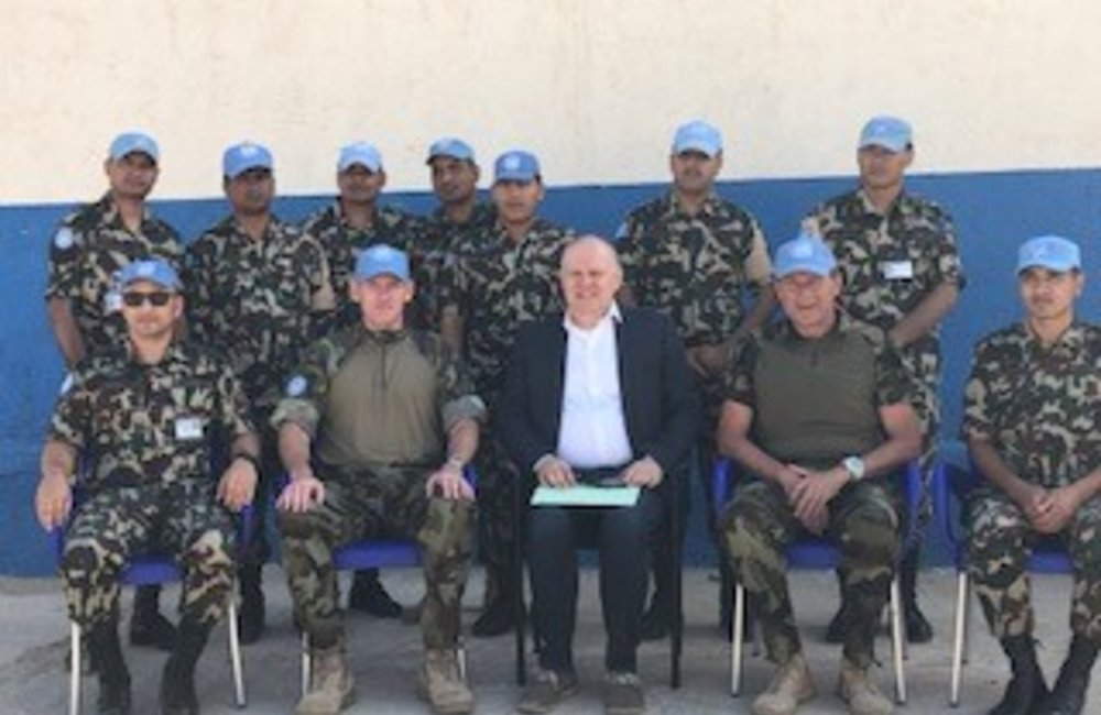 Visit of Mr Darko Mocibob to UNDOF June 2019