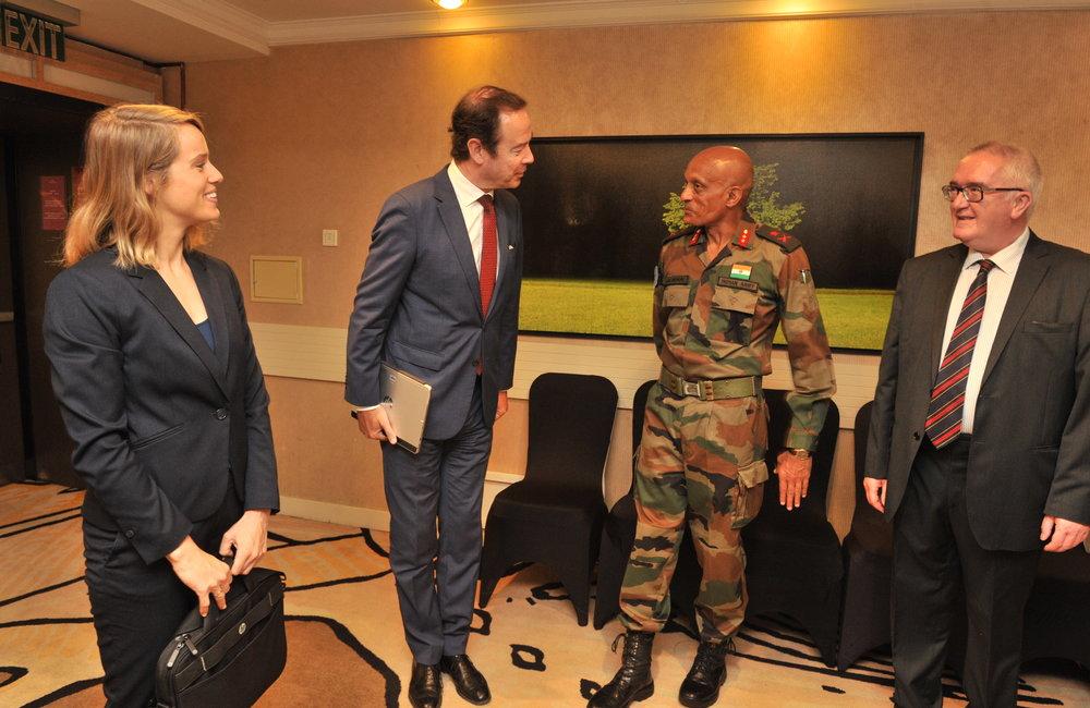 FC/ Hom with Dutch Ambassador H.E Mr Gilles Beschoor Plug