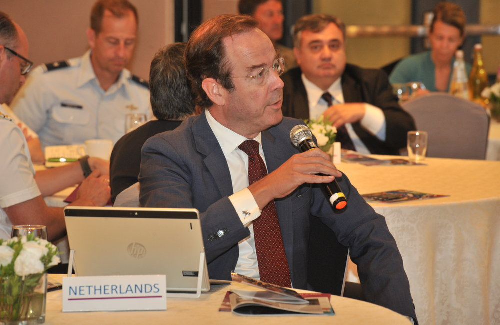Dutch Ambassador H.E Mr Gilles Beschoor Plug