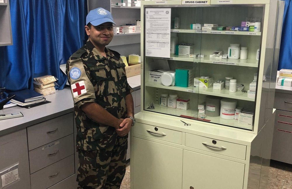 The Nepalese Level 1 + has a fully trained and equiped Pharmacy Department