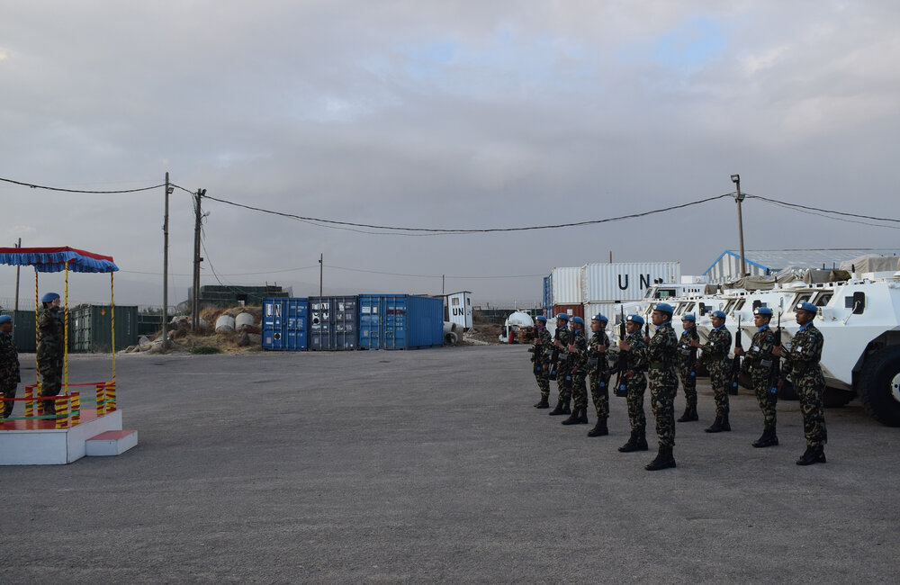 DFC salutes the Honour Guard