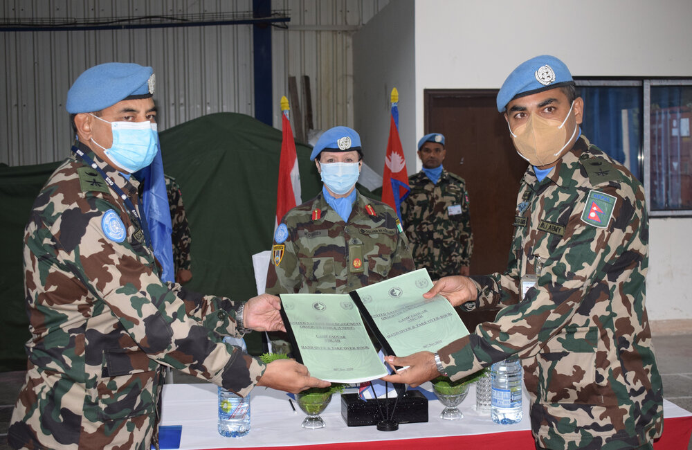 NMC Commanders complete their transfer of authority