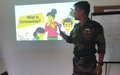 UNDOF CONDUCTS CORONA VIRUS AWARENESS  PROGRAM