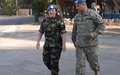 Arrival of New Deputy Force Commander to UNDOF HQ