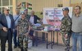 NEPCON VII Conduct CIMIC Program in Arneh Village Schools.