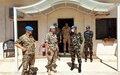 HoM/FC Maj Gen Ishwar Hamal visited OPs and UNP.