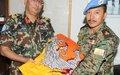 STAFF OFFICER FROM BHUTAN JOINED UNDOF