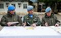 New Chief of Staff in UNDOF