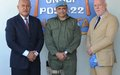 Fijian Ambassadors visit troops in GOLAN