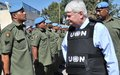 USG Peacekeeping Operations, Mr Herve Ladsous visits UNDOF
