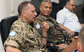 The Chief of Staff UNTSO visits UNDOF