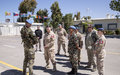 Visit to UNDOF by Lt Gen Stephen Bowes Commander Canadian Joint Operations Command