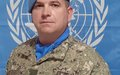 Arrival of New Chief of Staff UNDOF HQ