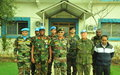 Lieutenant General Ajae Kumar Sharma of the Indian Army visits UNDOF