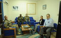 Visit to UNDOF HQ by Ambassador David Satterfield Assistant Secretary, Bureau of Near Eastern Affairs