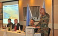 Force Commander Welcome Address Diplomat's Day 2017