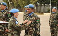 Staff Officers Medal Parade UNDOF HQ