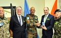 Visit to UNDOF by the Irish Minister of State with responsibility for Defence