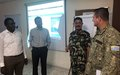 SAGE Training for Staff Officers in UNDOF HQ
