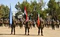 Medal Parade 60 Inf Gp FRC Irish Contingent UNDOF