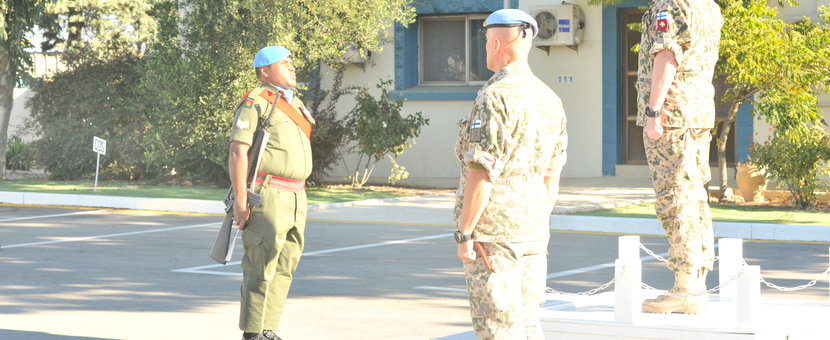 Guard Commander reporting to Lt Gen Eero Pyotia